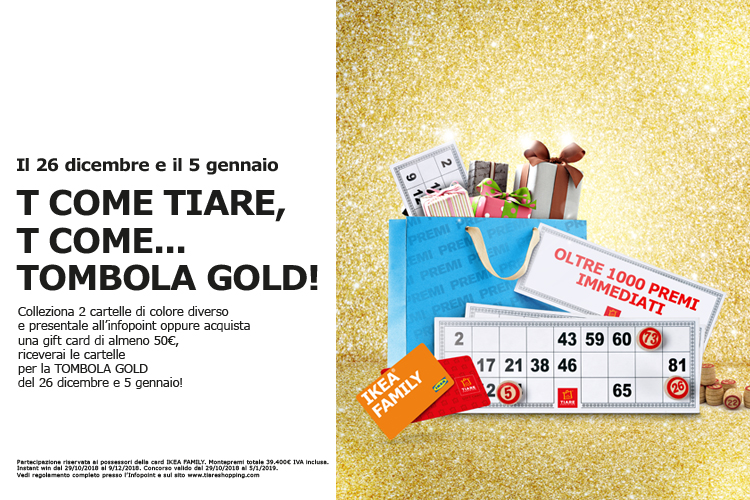 tombola gold