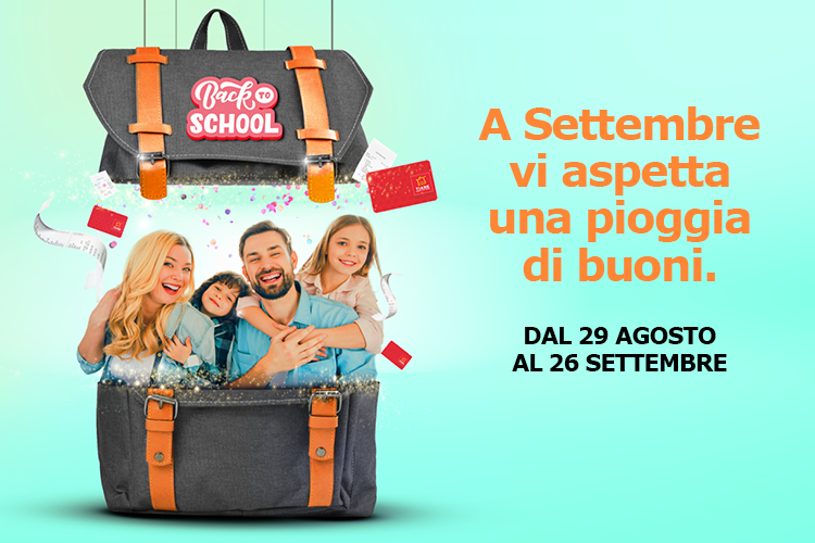 Tiare Shopping - Back to School Concorso - Sito