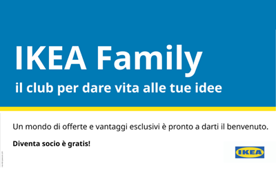 IKEA - Tiare Shopping - New Family Card