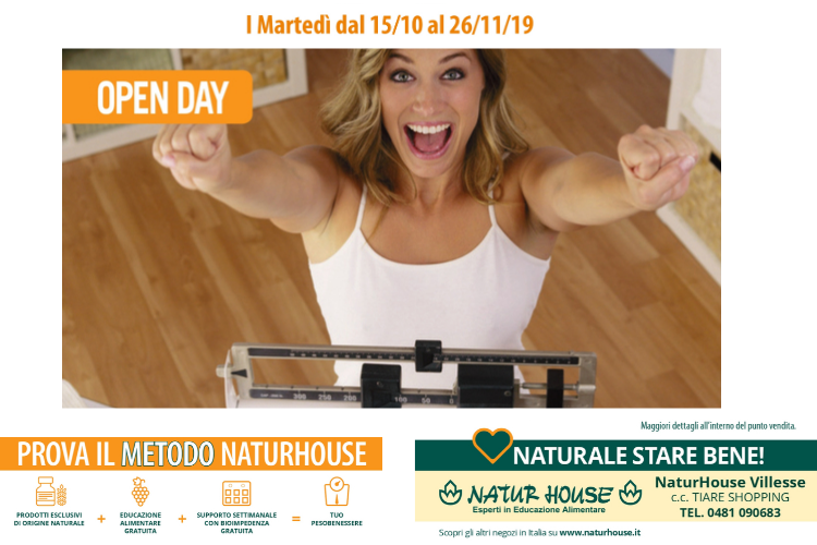 natur house - tiare shopping - open day