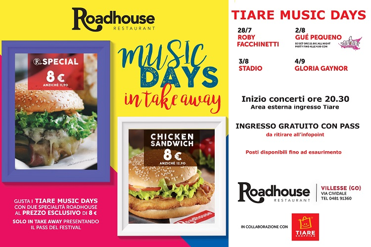 Promo Roadhoude per i Music Days