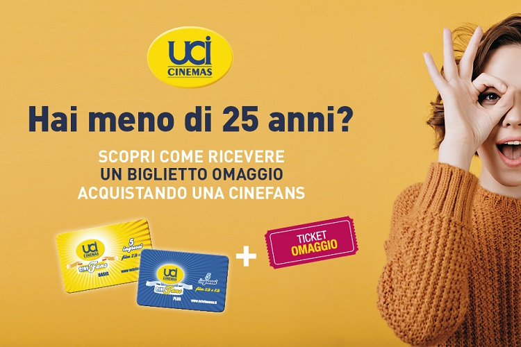UCI Cinemas del Tiare Shopping - Promo Cinefans Under 25